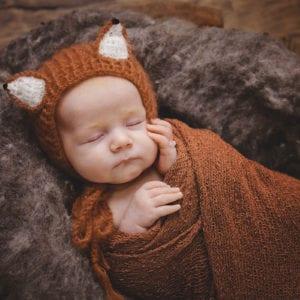 cute newborn baby photography fox newborn photography beautiful newborn photoshoot