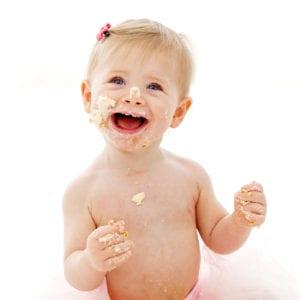 Baby cake smash