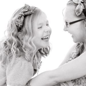 Children's studio portrait photography