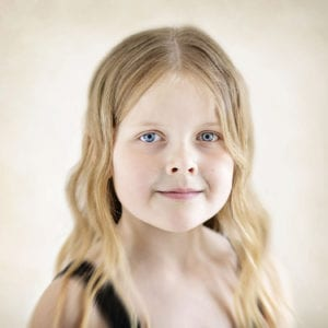 Children's portrait photographer in East Yorkshire