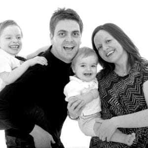 Family portrait photography in East Yorkshire studio