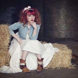 Teenage photography shoot