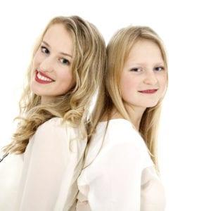 Teenage girls portrait photography