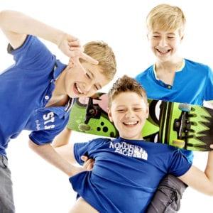 Teenage boys photography session