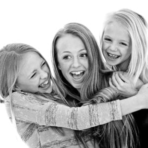 Teenager family portrait photography