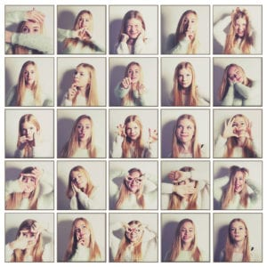 Teen photo shoot session