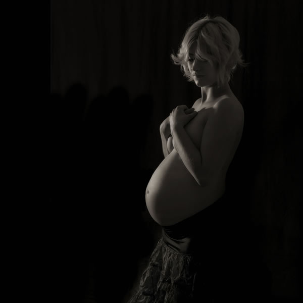 Image from a maternity photoshoot in East Yorkshire