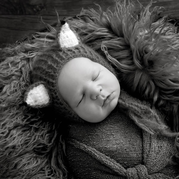 Example of newborn photography in East Yorkshire
